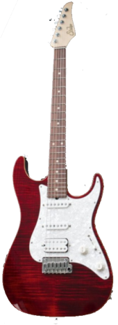 Suhr S3 Flame-Chili Pepper Red