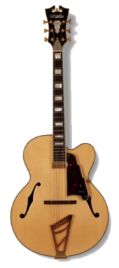 D'Angelico EXL-1NAC ARCHTOP-floating Natural